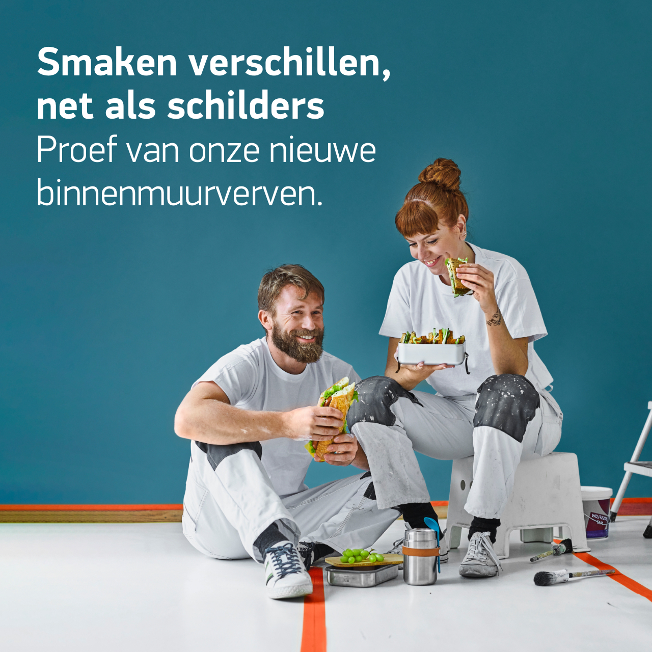 BOSS Paints, campagne concept, art direction, campagnebeeld